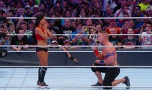 John Cena Proposed To Nikki Bella at Wrestlemania 33 (VIDEO)