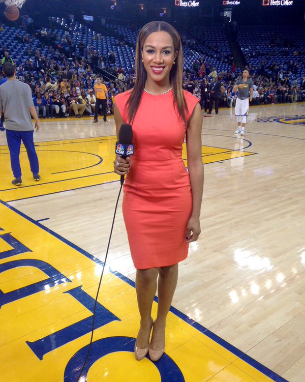 Rumor Durant Possibly Dating Warriors Sideline Reporter