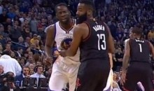 Draymond Green Says He Punched Harden's Wrist Because He Was Being Pinched (VIDEO)