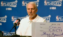 Gregg Popovich Reportedly Left a $5K Tip At Memphis Restaurant