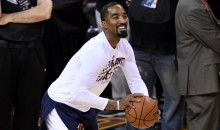 J.R. Smith's Premature Baby Takes Major Stride By Having Her Very First Bottle (PIC)