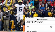 Someone Updated Jabrill Peppers Wikipedia Moments After He Was Drafted By Browns (PIC)
