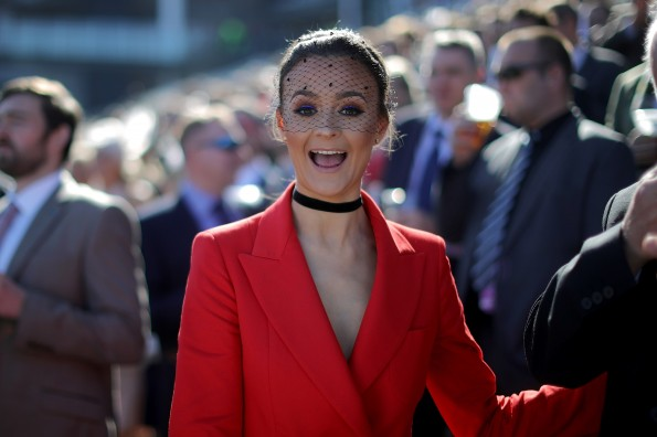 Racegoers Attend The Randox Health Grand National Festival - Day Two