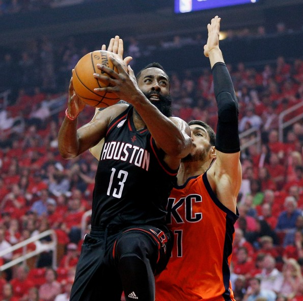 Oklahoma City Thunder v Houston Rockets - Game One