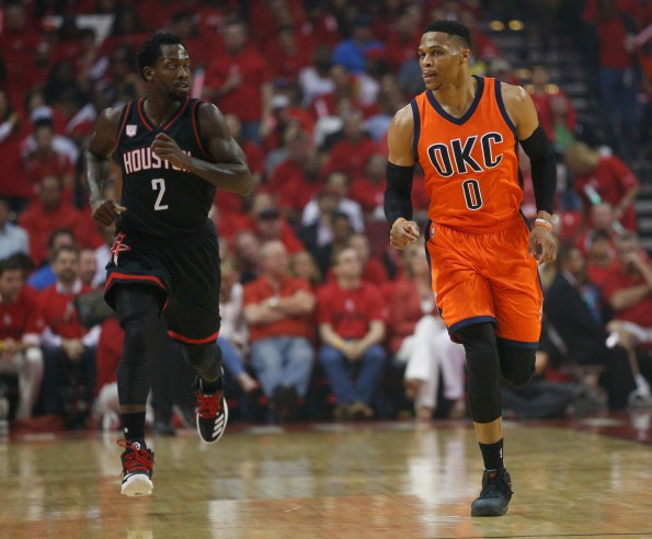 Oklahoma City Thunder v Houston Rockets - Game One