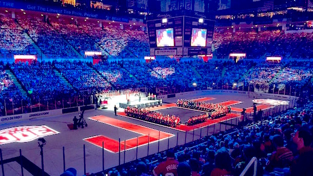 Joe Louis Arena farewell ceremony