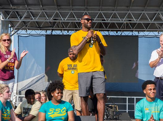 LeBron James Foundation helps create new Akron