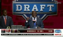 Former Redskins LB London Fletcher Also Trolled Philly Crowd During NFL Draft (VIDEO)