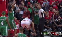 Robin Lopez Untied Jae Crowder's Shoe After His Own Shoe Was Tossed (Video)