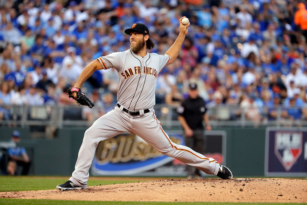 Madison Bumgarner sprains shoulder, bruises ribs in dirt bike accident
