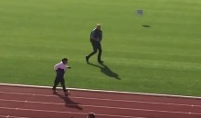 WATCH: 101-Year-Old Sprinter Wins Gold in 100-Meters at 2017 Masters Games (Video)