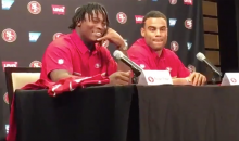 Reuben Foster Says He Hung Up On Saints To Take Call From The 49ers (VIDEO)