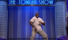 Shaq Offered Up an Insanely Good Performance for Jimmy Fallon's 'Lip Sync Challenge' (Video)