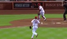 Adam Wainwright Gave a Surprisingly Reasonable Explanation for His Extremely Wild Pitch Last Night (Video)