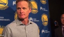 Steve Kerr Offers the Perfect Response to Dennis Rodman's Dig About Resting Players (Video)