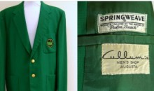 Masters Jacket Bought for $5 at a Thrift Store Sells for $139,000 (Tweet)
