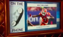 NFL Team Asked Clemson's Mike Williams How He'd Murder Someone in an Interview (VIDEO)