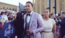 DeShone Kizer's Draft Day Jacket Had Pretty Much the Best Lining You Could Imagine (Pics)