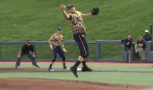 WVU Pitcher Snags Line Drive with Bare Hand, then Throws to First to Complete Epic Double Play (Video)