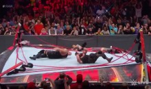 WWE Ring Collapses After Braun Strowman Suplexes The Big Show Off the Top Ropes (Video)