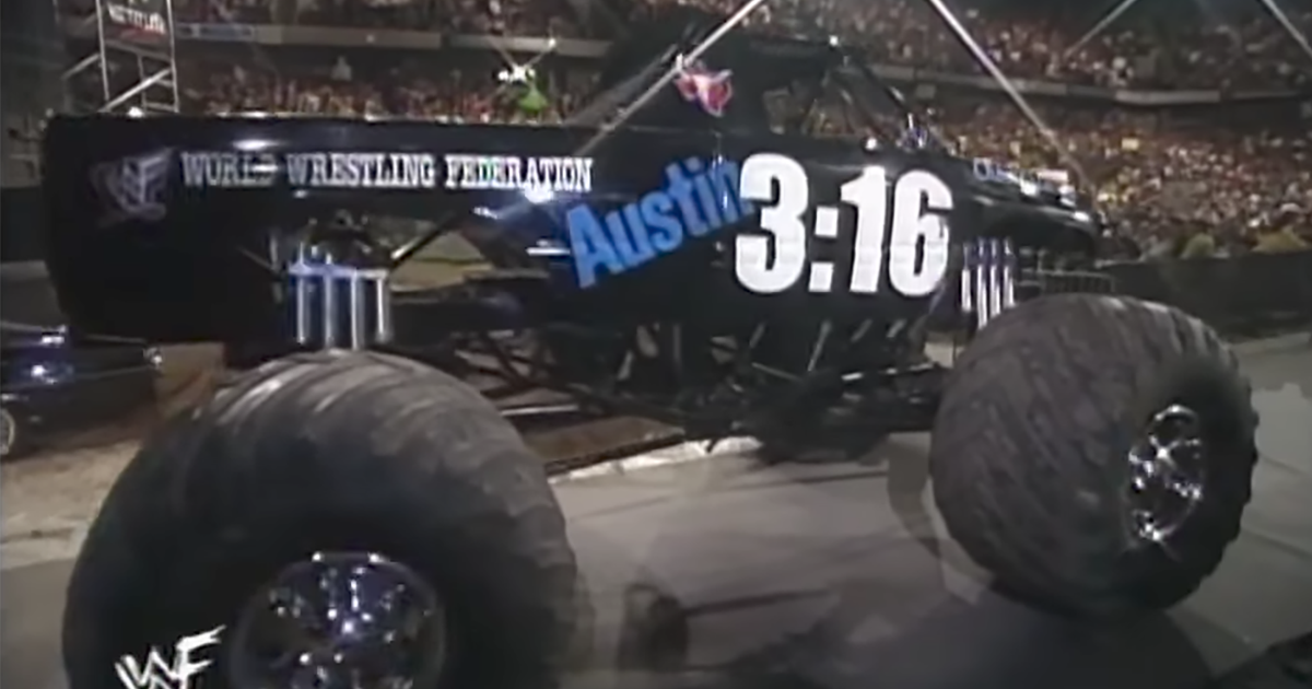 Stone Cold Steve Austin Reveals How A Wwe Monster Truck