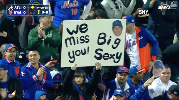 bartolo colon ovations mets fans signs return to citi field
