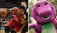 Bucks Troll Raptors by Playing Barney Theme During Player Intros (Video)