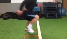 Top RB Prospect Christian McCaffrey Reminds Us How Insanely Fast His Feet Are (Video)