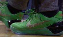 Isaiah Thomas Pays Tribute To Sister With Shoes: 'R.I.P. Lil Sis'