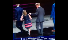 Watch as Roger Goodell Casually Wipes His Boogers on a Girl (VIDEO)