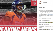 Von Miller Gives Broncos Fans a Mini Heart Attack With April Fools Prank (PIC)