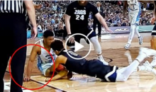 Video Shows Refs Missing Obvious Call On Play Before UNC Scored Game-Winning Basket (VIDEO)