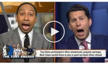 Stephen A. Smith Wonders Why Black Athletes Aren't Treated Like Romo (VIDEO)