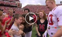 Military Sergeant Surprised His Family During The Coin Toss of The Nebraska Spring Game (VIDEO)