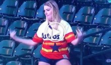 Astros Fan Breaks Out Her Awkward Happy Dance After Game Winning HR (VIDEO)