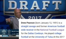 Somebody Updated The Eagles Wikipedia Page After Drew Pearson's Epic Troll During Draft