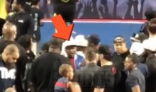Floyd Mayweather Berates Cheerleading Judge Because His Daughter's Team Didn't Win Competition (Videos)