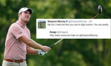 Pro Golf Horndog Grayson Murray Flirts with High School Girl on Twitter (Tweets)