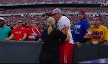 Security Guard Had No Clue Gronk Was a Part of Wrestlemania; Proceeds to Restrain Him (VIDEO)