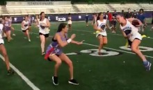 High School Girl Delivers What Might Be the Hardest Hit in the History of Flag Football (Video)