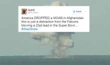 """Social Media Reacts to ISIS Winning The Toss & Receiving """"The Mother of All Bombs"""" From The United States (VIDEO)"""