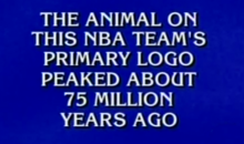 'Jeopardy!' Contestant Doesn't Recognize Raptors Clue, Loses Everything (VIDEO)