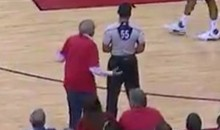 Rockets Owner Leslie Alexander Fined $100K For Confronting Referee During Game 5 (VIDEO)