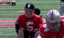 Ohio State Fan With Muscular Dystrophy Scores TD in Spring Game (VIDEO)