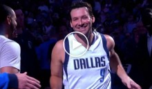 Tony Romo Knocking Down Jumpers in Pregame; Introduced as Honorary 6th Man (VIDEO)