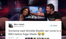 Social Media Roasts Sage Steele After ESPN Replaces Her With Michelle Beadle on Her Day Off (TWEETS)