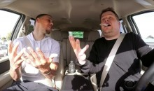 Steph Curry Kicks Back in an Awesome Installment of 'Carpool Karaoke' (Video)