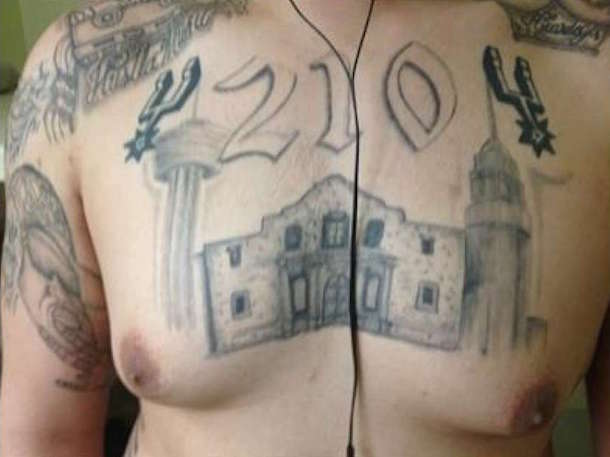 tango orejon spurs tattoo 4