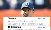 Tony Romo's Text Messages Revealed After Announcing Retirement (PIC)