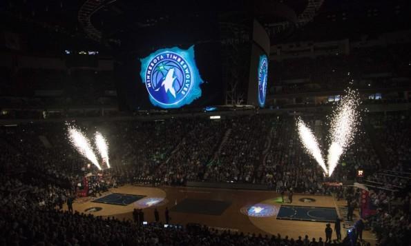 USP NBA: OKLAHOMA CITY THUNDER AT MINNESOTA TIMBER S BKN MIN OKC USA MN